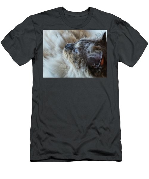Men's T-Shirt (Slim Fit) featuring the photograph Profile by Karen Stahlros