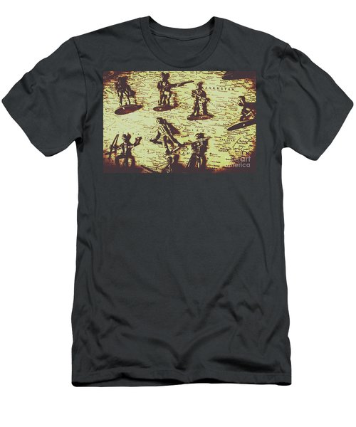 Project For The New American Century Men's T-Shirt (Athletic Fit)