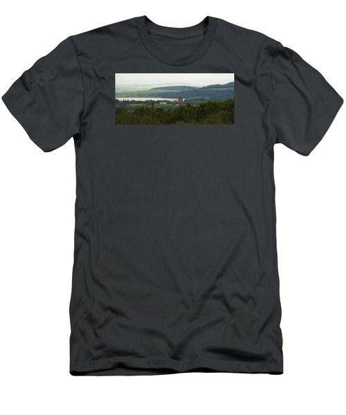 Prongy Hill Men's T-Shirt (Slim Fit) by Ellery Russell