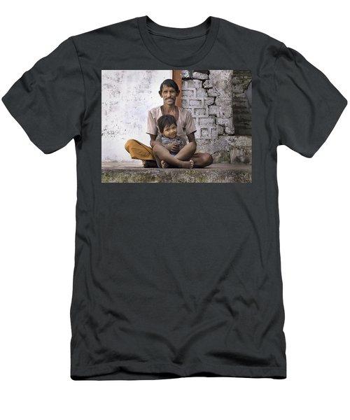 Proud Father Men's T-Shirt (Athletic Fit)