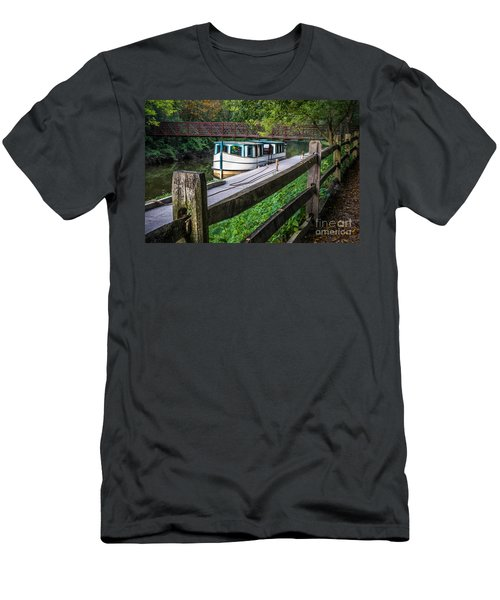 Providence Metropark Erie Canal  Men's T-Shirt (Athletic Fit)