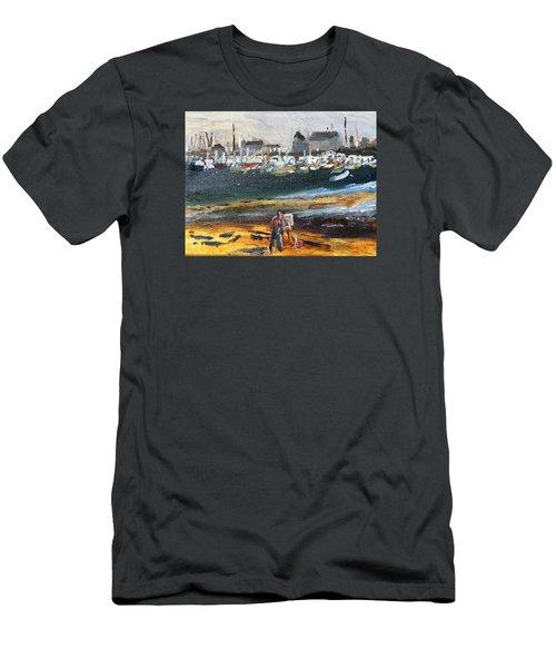 Provincetown Artist Men's T-Shirt (Athletic Fit)