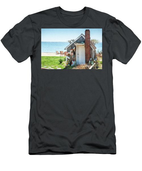 Provincetown Shed Men's T-Shirt (Athletic Fit)
