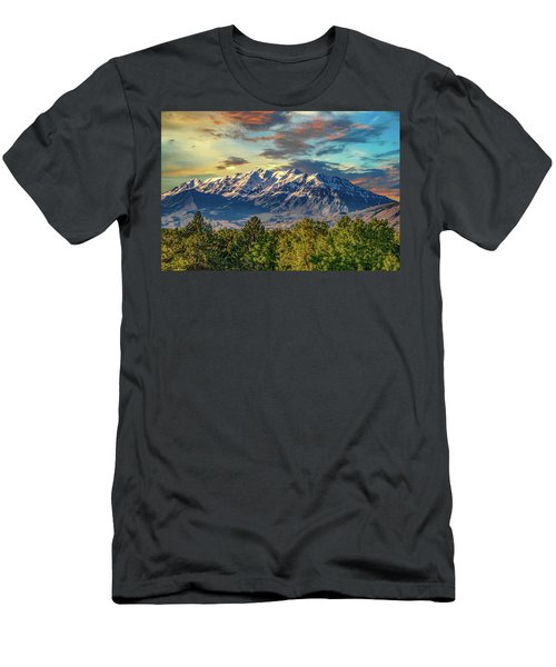 Provo Peaks Men's T-Shirt (Athletic Fit)