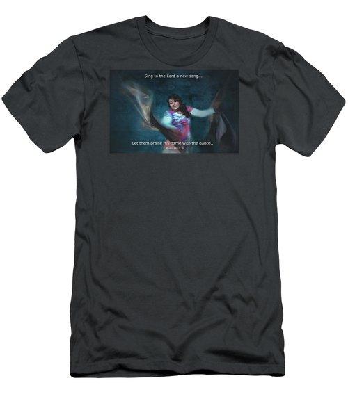 Psalm 149 Men's T-Shirt (Athletic Fit)