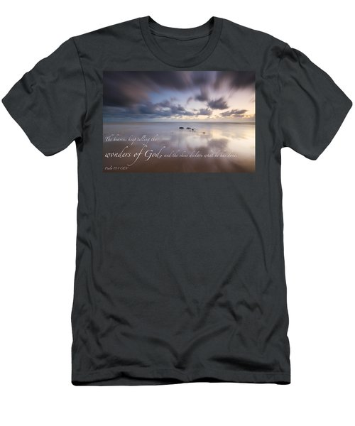 Psalm 19 1 Men's T-Shirt (Athletic Fit)