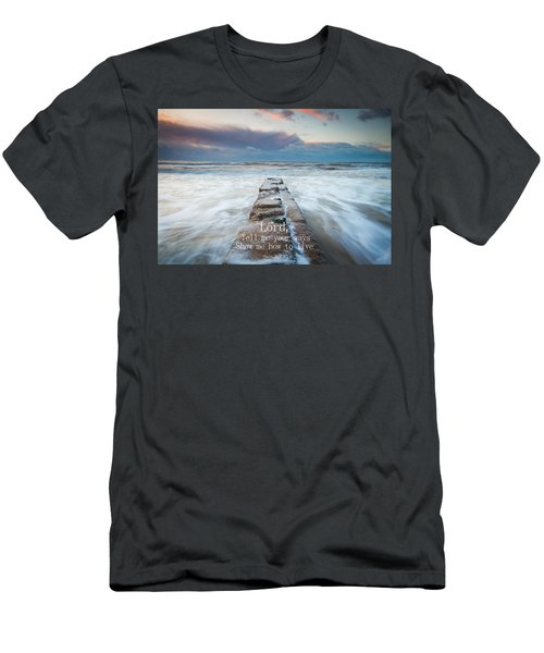 Psalm 25 4 Men's T-Shirt (Athletic Fit)