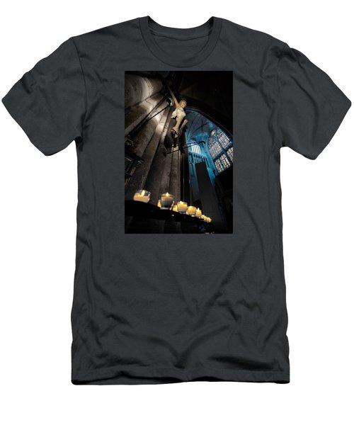 Psalms 119 105 Men's T-Shirt (Athletic Fit)