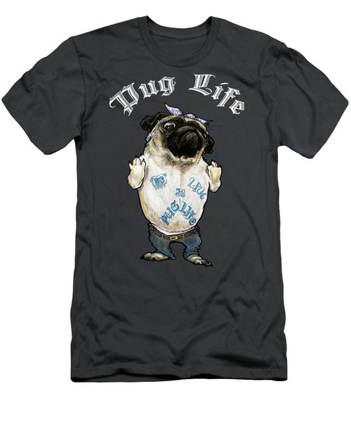 Pug Life Men's T-Shirt (Athletic Fit)