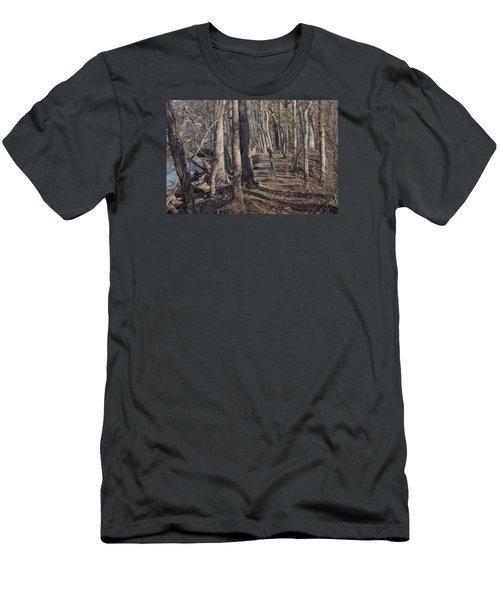 Pumpkin Ash Trail Men's T-Shirt (Athletic Fit)