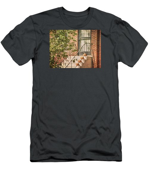Pumpkin Portico Men's T-Shirt (Slim Fit)