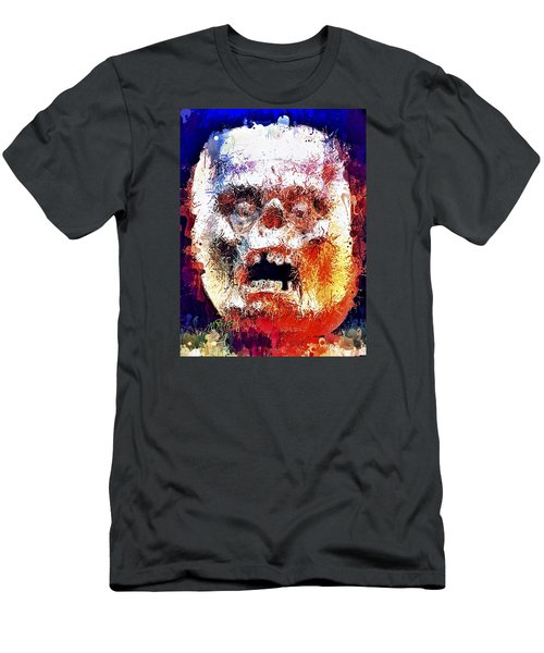 Pumpkin Scream Men's T-Shirt (Athletic Fit)