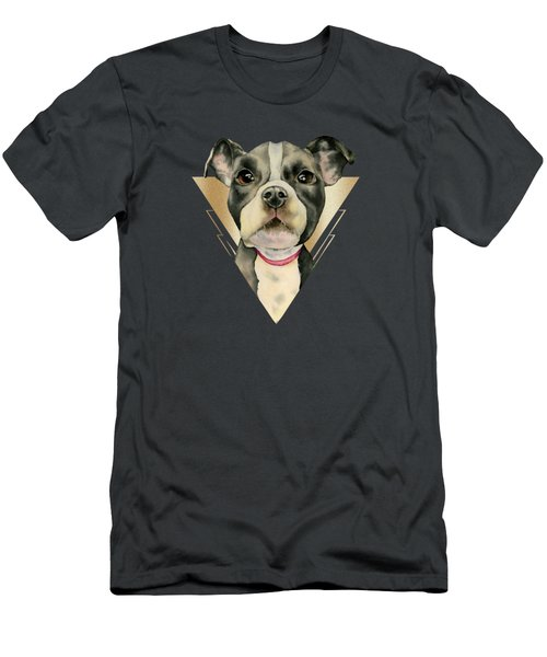 Puppy Eyes 4 Men's T-Shirt (Athletic Fit)