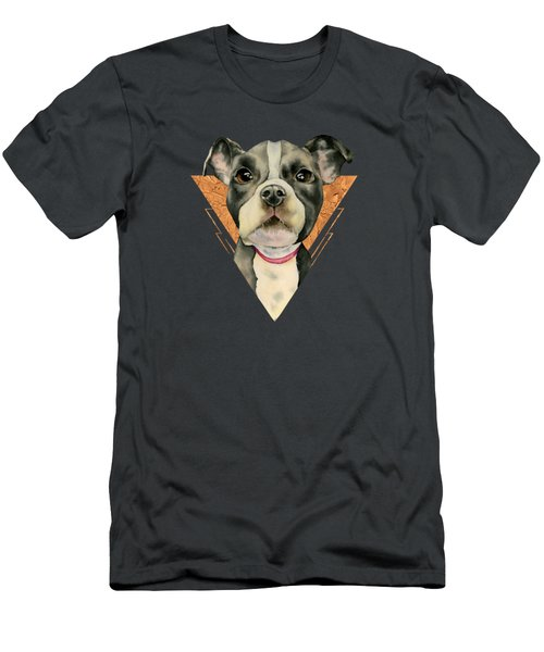 Puppy Eyes 5 Men's T-Shirt (Athletic Fit)