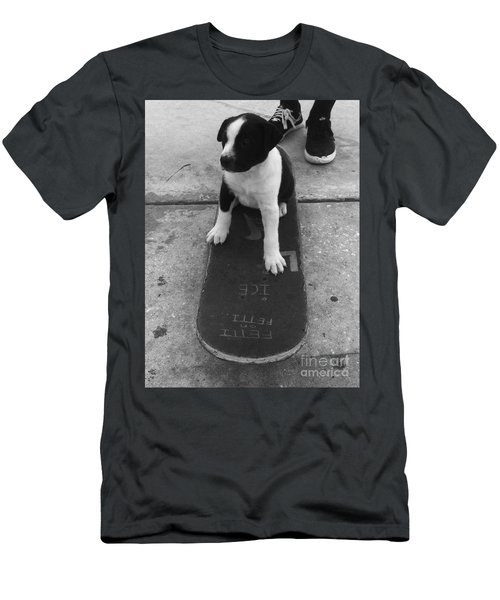 Puppy Skater Men's T-Shirt (Athletic Fit)