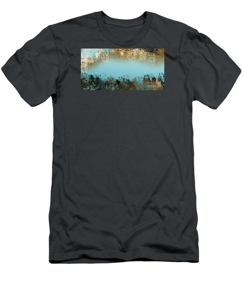 Men's T-Shirt (Slim Fit) featuring the digital art Purity by Trilby Cole