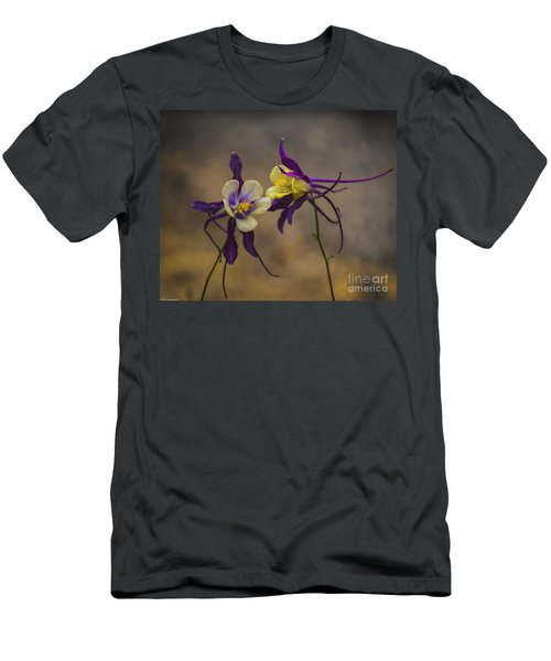 Purple And Gold Men's T-Shirt (Athletic Fit)