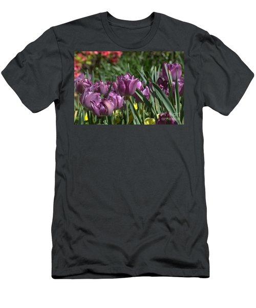 Purple Bliss Men's T-Shirt (Athletic Fit)