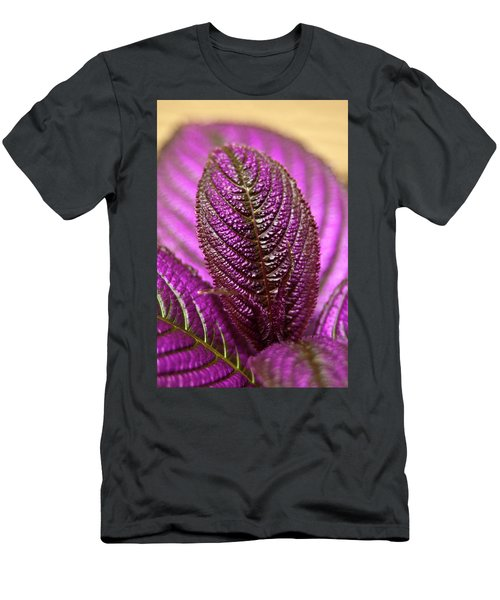 Purple Coleus Men's T-Shirt (Athletic Fit)