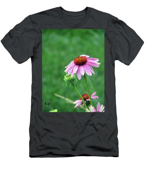 Purple Cone Men's T-Shirt (Athletic Fit)