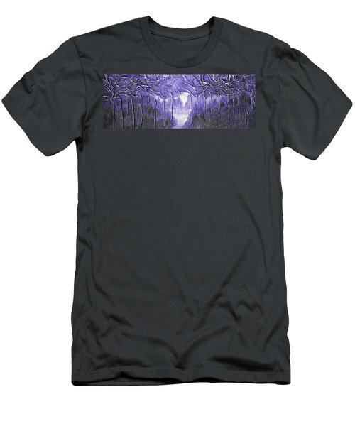Purple Forest Men's T-Shirt (Athletic Fit)