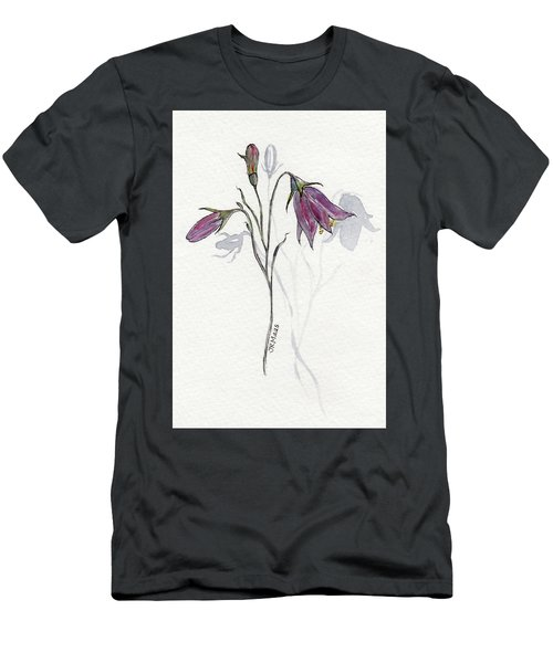 Purple Harebell Men's T-Shirt (Athletic Fit)