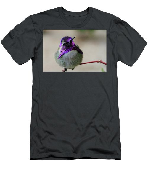 Purple Head Men's T-Shirt (Athletic Fit)