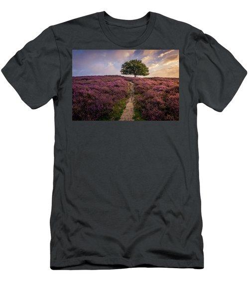 Purple Hill Men's T-Shirt (Athletic Fit)