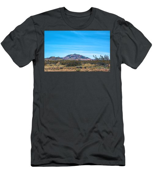 Purple Mountain Men's T-Shirt (Athletic Fit)