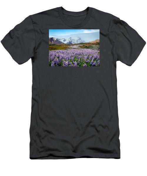Purple Pathway Men's T-Shirt (Athletic Fit)