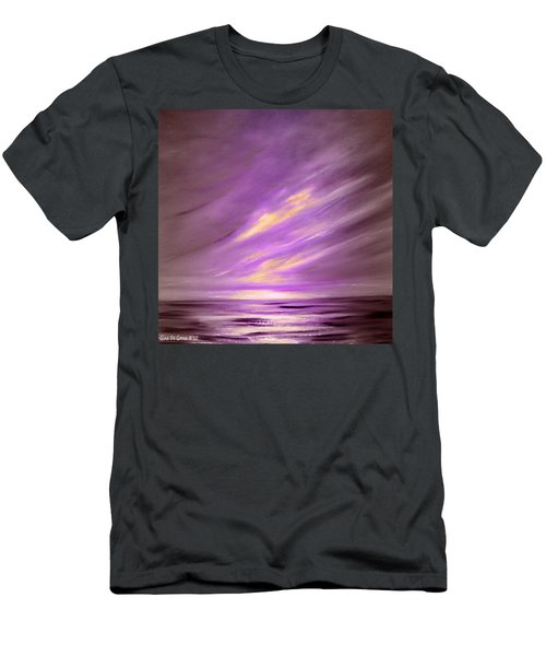Purple Sunset Men's T-Shirt (Athletic Fit)