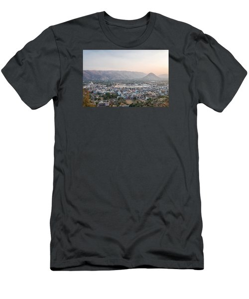 Men's T-Shirt (Athletic Fit) featuring the photograph Pushkar by Yew Kwang