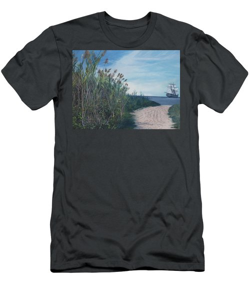 Putting Out To Sea Men's T-Shirt (Athletic Fit)