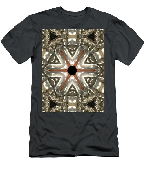 Puzzle In Taupes Men's T-Shirt (Athletic Fit)