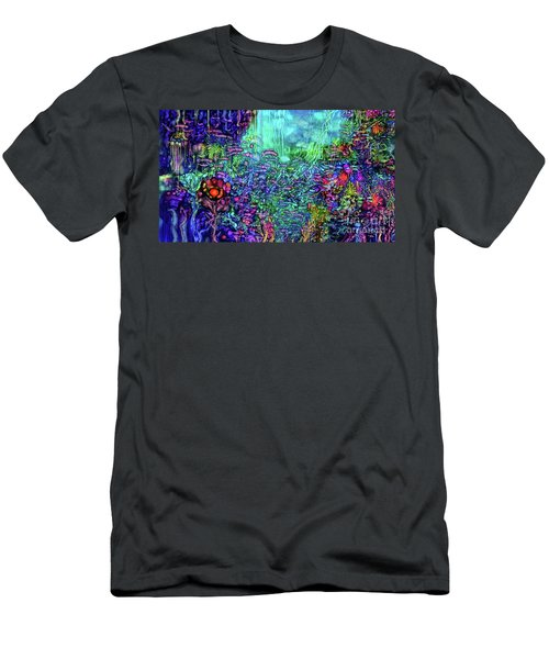 Men's T-Shirt (Slim Fit) featuring the digital art Qualia's Reef by Russell Kightley