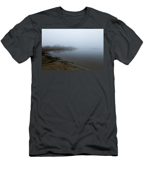 Quarry Lake - The Fog Series Men's T-Shirt (Athletic Fit)