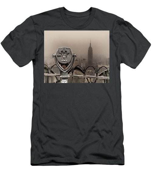 Men's T-Shirt (Athletic Fit) featuring the photograph Quarters Only by Chris Lord