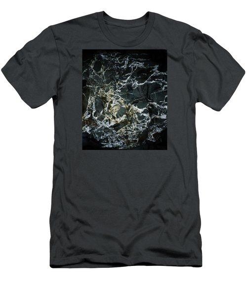 Quartz Veins Abstract 1 Men's T-Shirt (Athletic Fit)