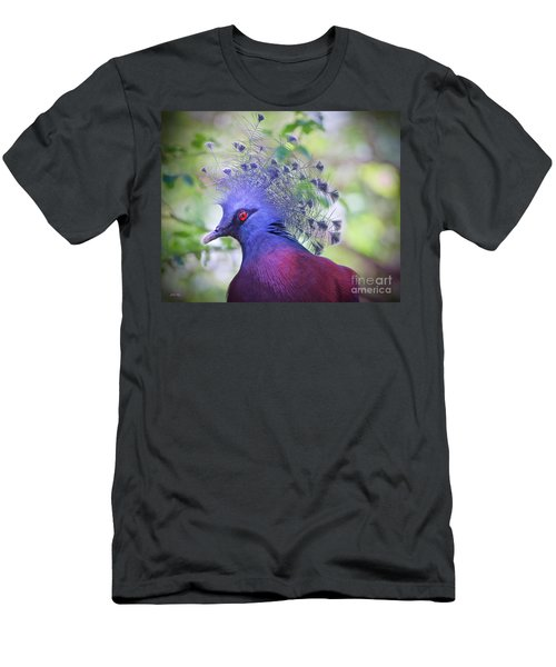 Queen Of The Birds Edition 2 Men's T-Shirt (Slim Fit) by Judy Kay