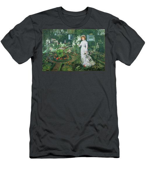 Queen Of The Lilies Men's T-Shirt (Athletic Fit)