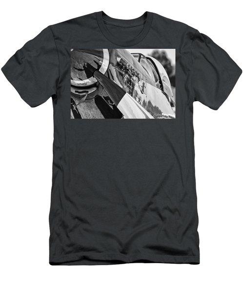 Quick Silver Closeup Men's T-Shirt (Athletic Fit)