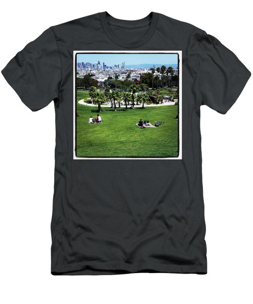 Men's T-Shirt (Athletic Fit) featuring the photograph Quiet At #doloresgaybeach by Mr Photojimsf
