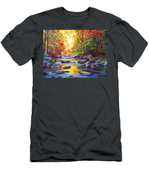 Quiet Stream Men's T-Shirt (Athletic Fit)