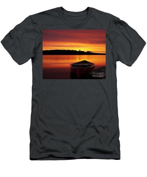 Quiet Sunset Men's T-Shirt (Slim Fit) by Rod Jellison