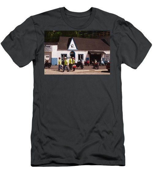Quitting Time Men's T-Shirt (Slim Fit) by David Blank