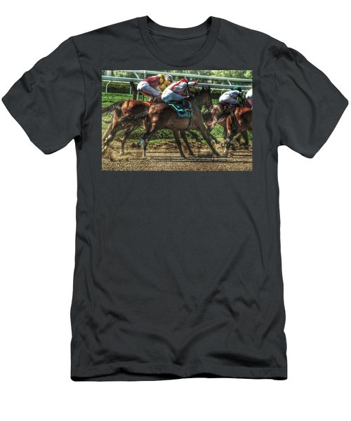 Racing Men's T-Shirt (Athletic Fit)