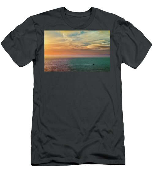 Racing The Sunrise Men's T-Shirt (Athletic Fit)