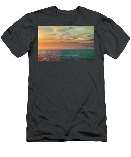 Racing The Sunrise Men's T-Shirt (Athletic Fit)