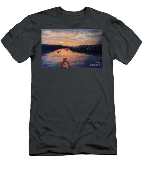 Racing The Sunset Men's T-Shirt (Athletic Fit)