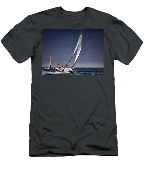 Racing To Nantucket Men's T-Shirt (Athletic Fit)